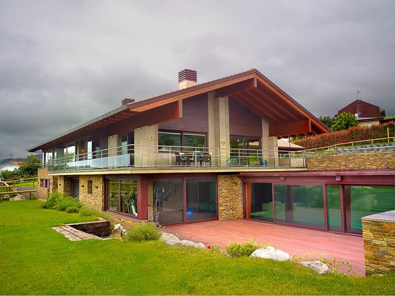 Casas de madera asturias precios cool perfect casas de for Exterior relativo